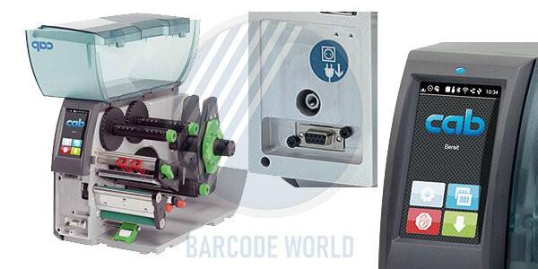 Thiết kế chuyên nghiệp của máy in tem nhãn mác Cab SQUIX 4 MT