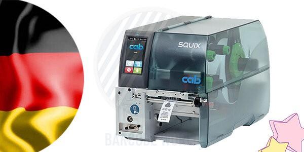 Xuất xứ Đức của máy in tem nhãn mác Cab SQUIX 4 MT