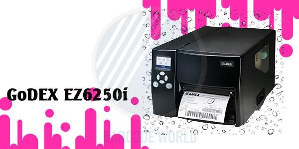 Máy in tem mã vạch công nghiệp GoDEX EZ6250i