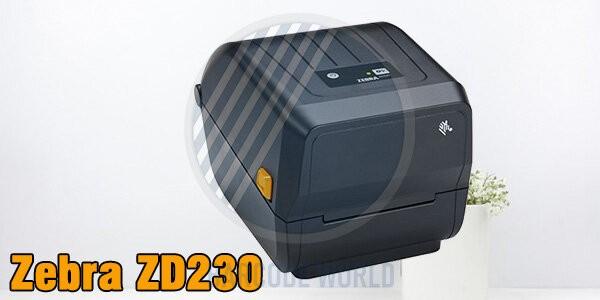 Máy in mã qr cho cửa hàng vừa và nhỏ - Zebra ZD230