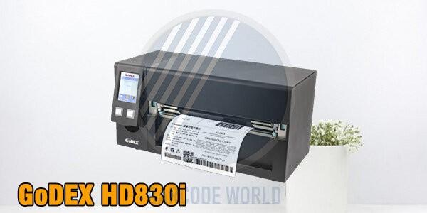 Máy in mã qr định dạng rộng - GoDEX HD830i