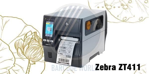 Máy in mã vạch Zebra ZT411
