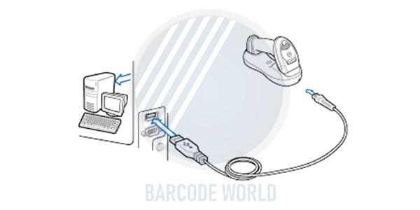 Máy quét mã vạch không dây
