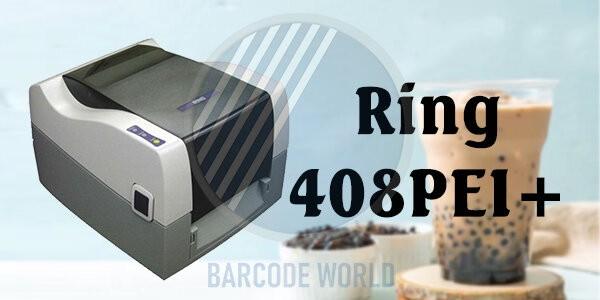 Máy in mã vạch Ring 408PEI+