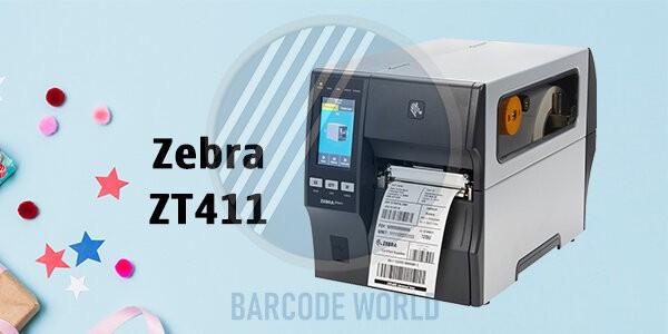 Máy in barcode Zebra ZT411