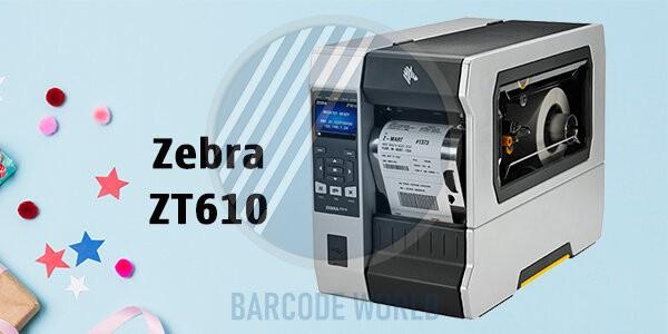 Máy in barcode Zebra ZT610