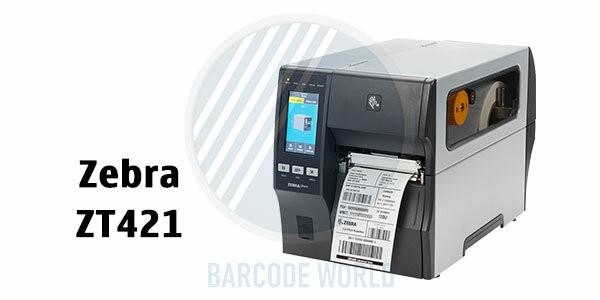 Máy in mã vạch 3 tem Zebra ZT421