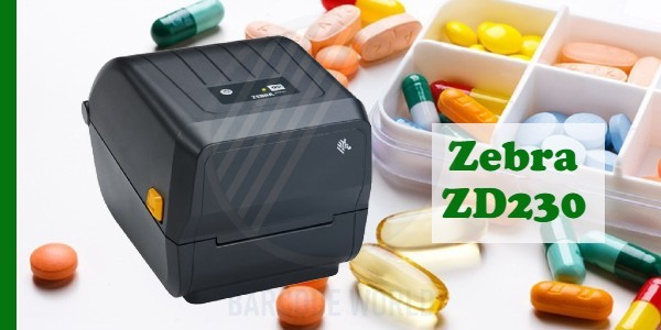 Máy in tem giá Zebra ZD230