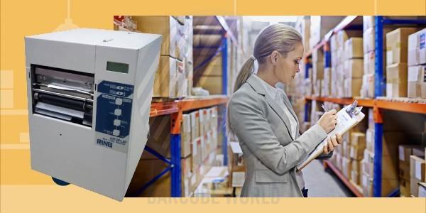 Máy in tem dán trong quản lý hàng hóa