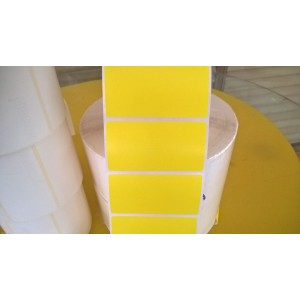 Giấy in mã vạch Fasson PVC màu 75x40mm