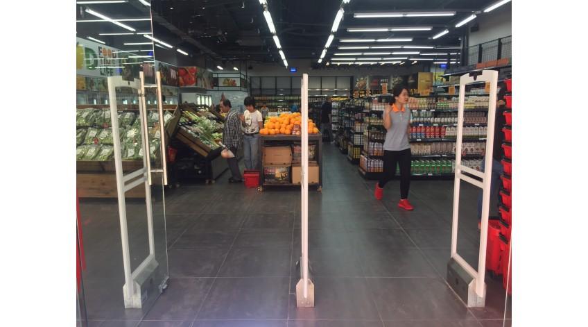 King Food Market Trang Bị Thành Công Cổng Từ An Ninh Chống Trộm FOXCOM