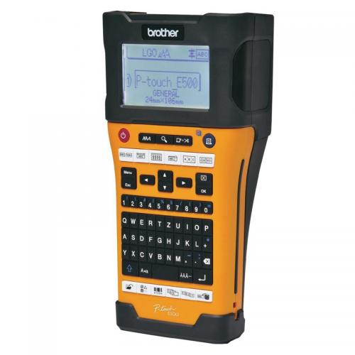 Máy in mã vạch Brother PT-E500VP