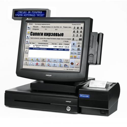 Máy bán hàng - POS Posiflex JIVA-5815N Pro