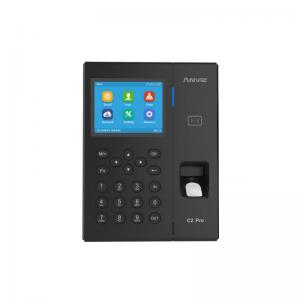 Máy chấm công vân tay và thẻ cảm ứng Anviz C2 Pro