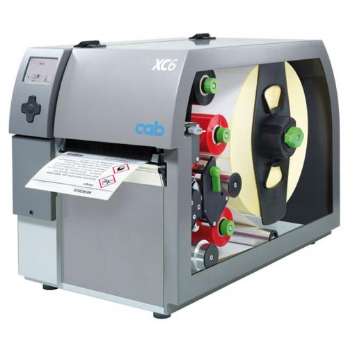 Máy in mã vạch Cab XC6 - máy in chuyên dụng in 2 màu