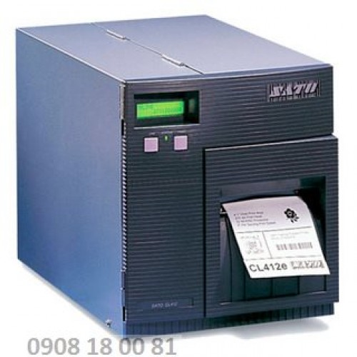 Máy in mã vạch Sato CL 412e