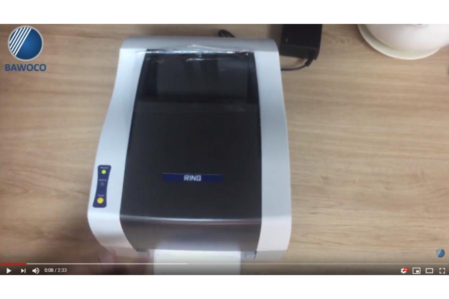 Máy in mã vạch Ring 408PEI+ - Hướng dẫn FIX lỗi không hiểu giấy