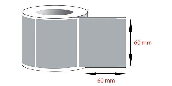 Decal pvc in tem nhãn mã vạch 60x60mmx1x100m