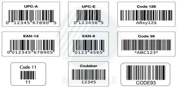 Barcode - mã 1D