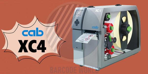 Máy in mã vạch màu Cab XC4