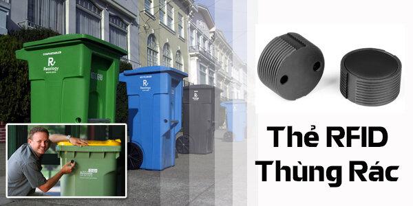 Ứng dụng RFID trong thẻ thùng rác