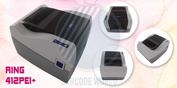 Máy in nhãn mác quần áo RING 412PEI+ sở hữu công nghệ tiên tiến từ Nhật Bản