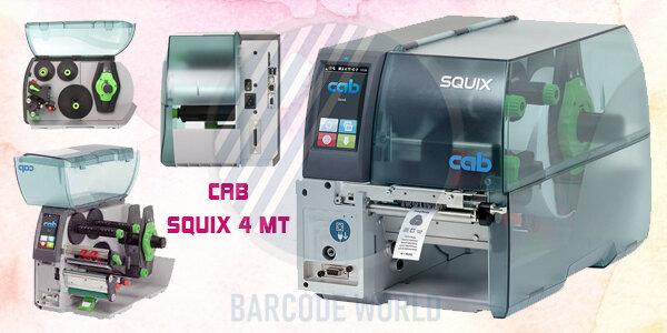 Máy in nhãn mác quần áo hiệu suất công nghiệp Cab SQUIX 4 MT