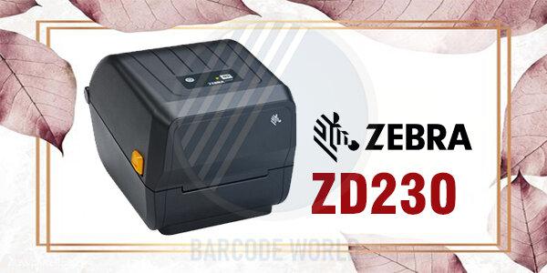 Máy in mã vạch 3 tem Zebra ZD230 - giải pháp tiết kiệm dành cho bạn