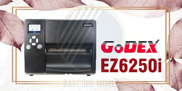 Máy in mã vạch 3 tem hiệu suất công nghiệp - GoDEX EZ6250i