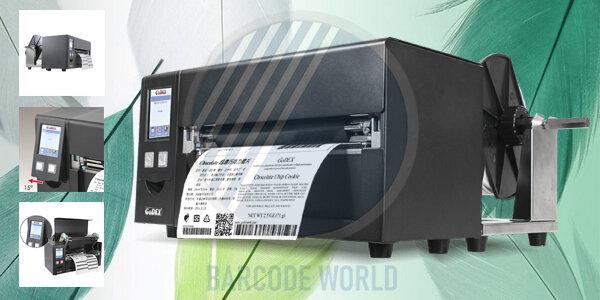 Máy in tem nhãn khổ a$ GoDEX HD830i với kết cấu bền chắc, hoạt động ổn định, in ấn chuyên nghiệp