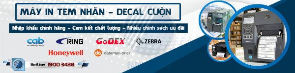 Thế Giới Mã Vạch - Phân phối máy in decal cuộn chính hãng