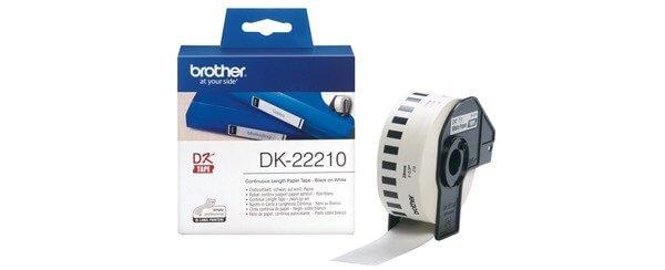 Nhãn in Brother DK-22210 I Thế Giới Mã Vạch