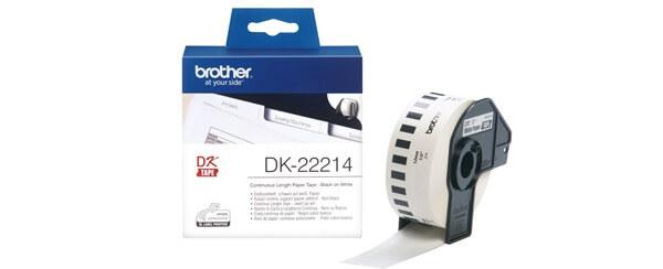 Nhãn in Brother DK-22214 I Thế Giới Mã Vạch