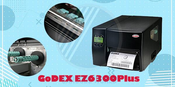 Các loại máy in tem nhãn 300dpi - GoDEX EZ6300Plus