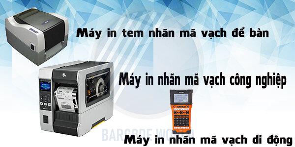 Sự đa dạng của máy in tem nhãn mã vạch