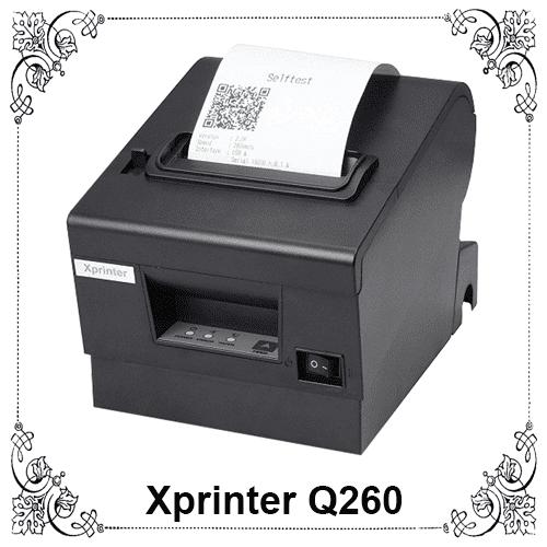 Máy in bill hóa đơn Xprinter Q260 - Thế Giới Mã Vạch